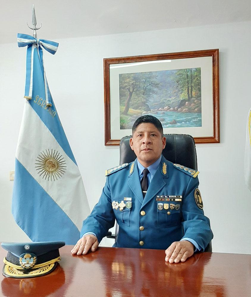 Insp. Gral. Rolando Gutierrez